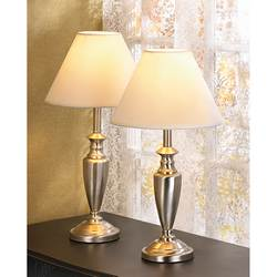 Mixed Material Lamp Set
