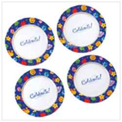 Wholesale Celebrate! Dessert Plates for sale at  bulk cheap prices!