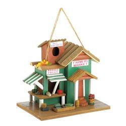 Wholesale Farmers Market Birdhouse for sale at bulk cheap prices!