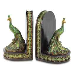 Wholesale Peacock Bookends for sale at bulk cheap prices!