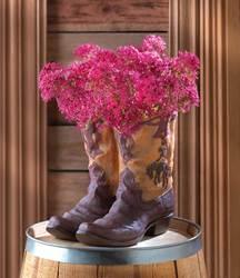 Wholesale Cowboy Boot Planter for sale at bulk cheap prices!