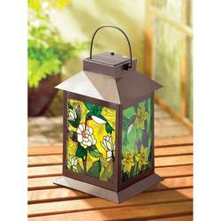 Wholesale Solar-Powered Floral Lantern for sale at bulk cheap prices!