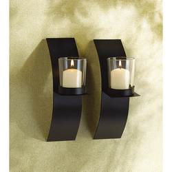 Wholesale Mod-Art Candle Sconce Duo for sale at bulk cheap prices!
