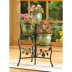 Wholesale Country Apple Plant Stand for sale at bulk cheap prices!