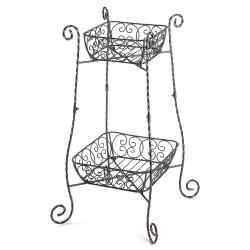 Wholesale Wire Basket Plant Stand for sale at bulk cheap prices!