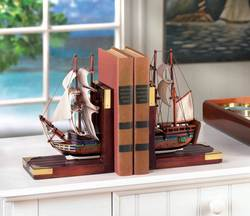 Wholesale Sailing Schooner Bookends for sale at bulk cheap prices!
