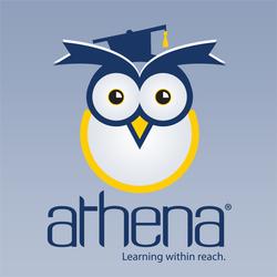 Athena logo franchise