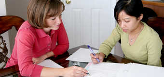 Four 1-hour Math Tutoring Sessions