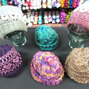 Knitted Hats by Mary Walker