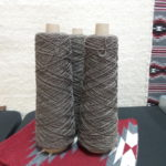 Worsted Rug Warp 1 Lb. Cone (JaggerSpun) - Gray, 2-ply