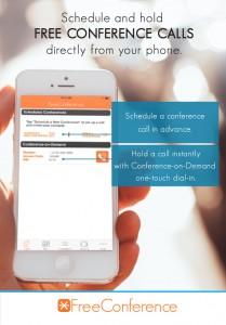 FreeConference.com smartphone iPhone App