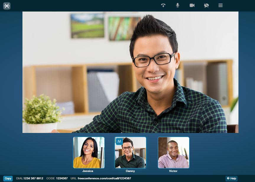 Online Video Conferencing video conference call