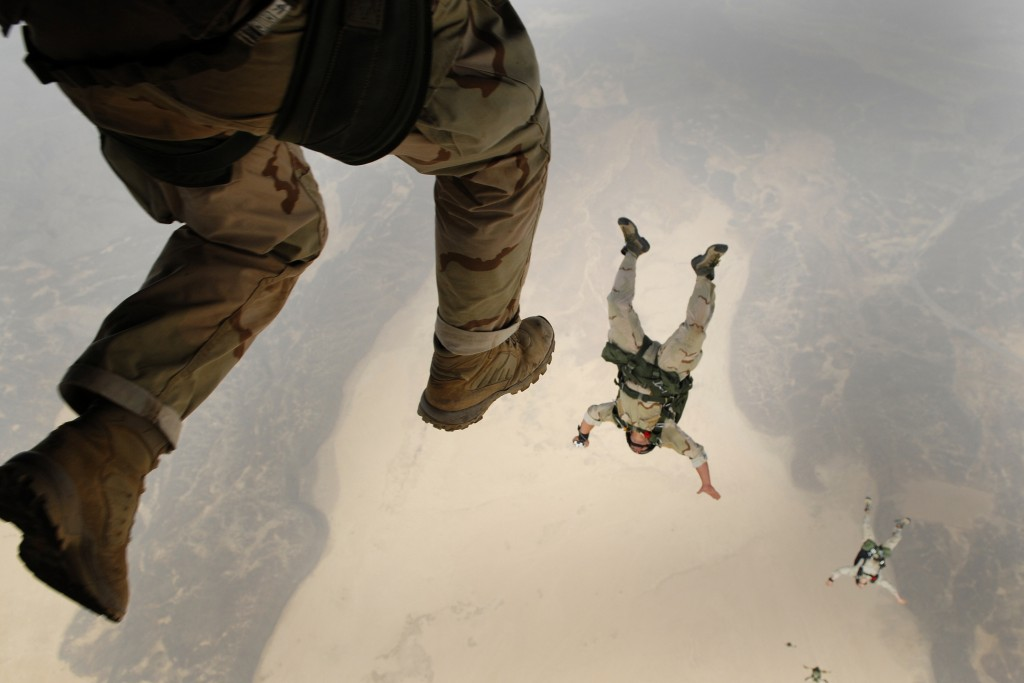 army skydive