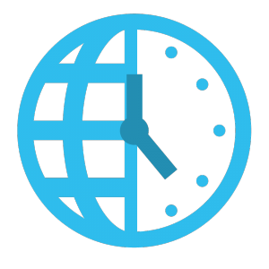 Time Zone Schedular Icon