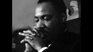 Martin Luther King Reflecting