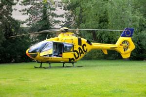 Big Yellow European Helicopter