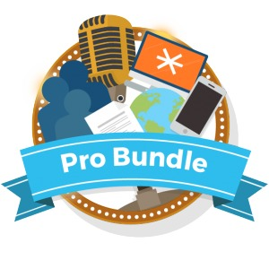 Sign up for the Pro Bundle