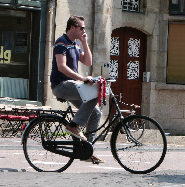 Conference Call on a bike