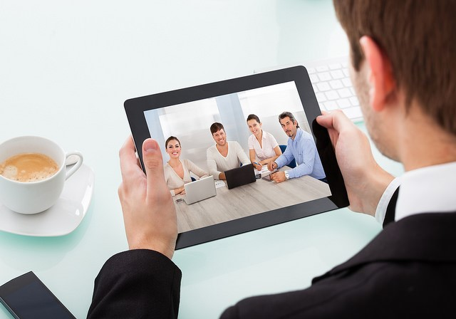 video calls on tablet