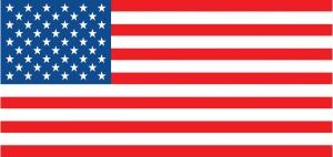 American Flag - international numbers