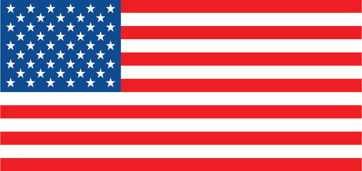 American Flag - international numbers