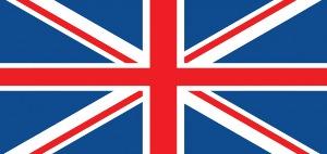 United Kingdom Flag- International Numbers
