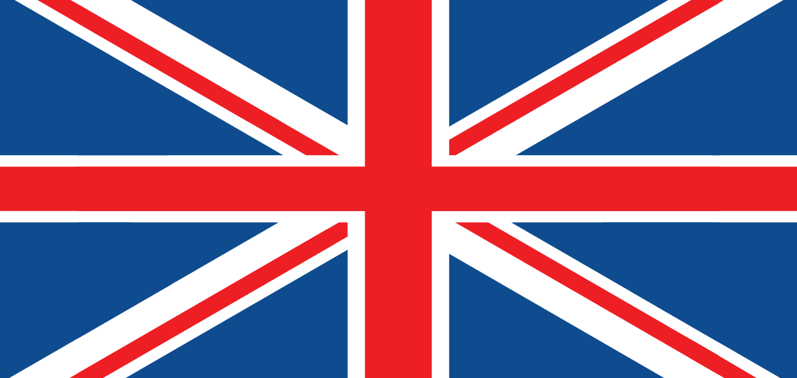 United Kingdom Flag- International Numbers