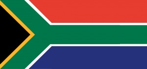 South Africa Flag - international numbers
