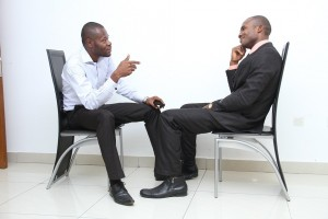 Dress properly for your conference call job interview