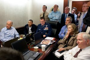 Video Calling in the Situation Room during Bin Laden's Capture