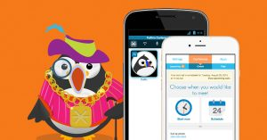 Puffin with free calling app