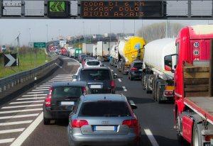 Highway traffic jam!