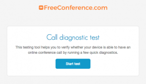 freeconference.com online conference call testing tool for web
