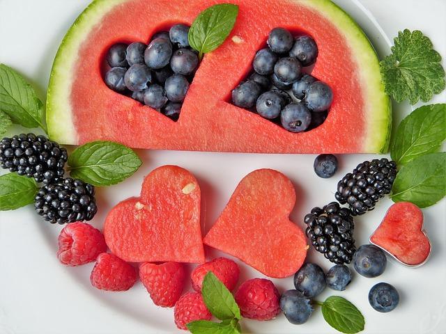 free fruit plate to inspire volunteers