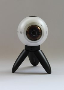 sample image of camera for 360-degree video conferencing