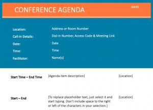 Meeting Agenda Download