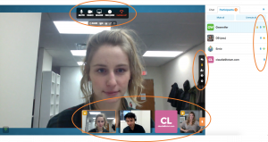 Online Meeting Room UI