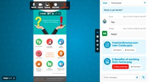 Screen Sharing & Document Sharing