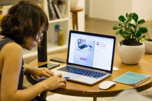 Technology has allowed more people to be able to work from home,
