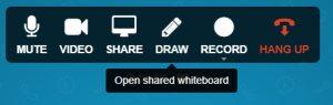 Whiteboard-top-bar