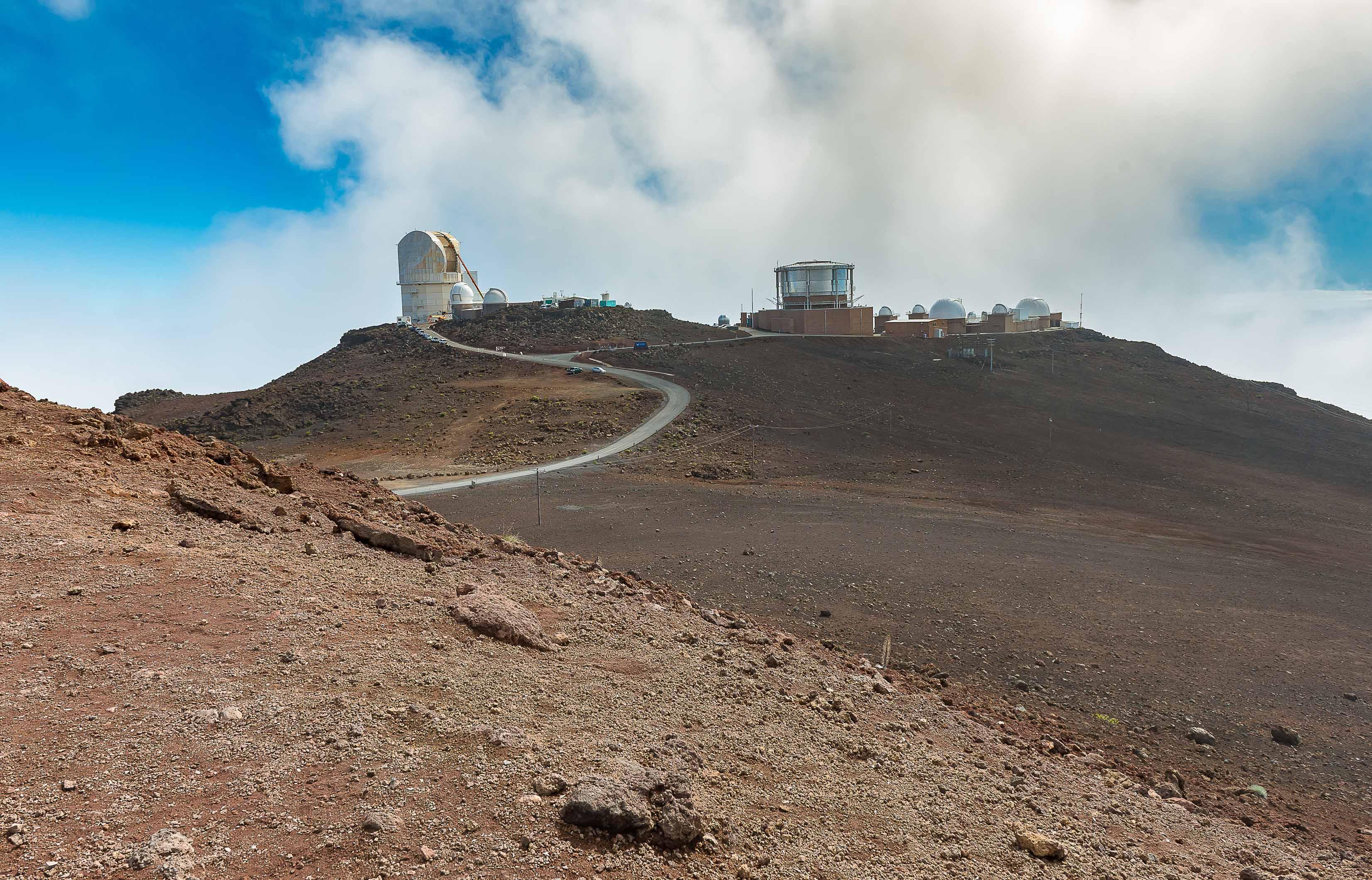 Haleakala Observatory Maui Hawaii USA