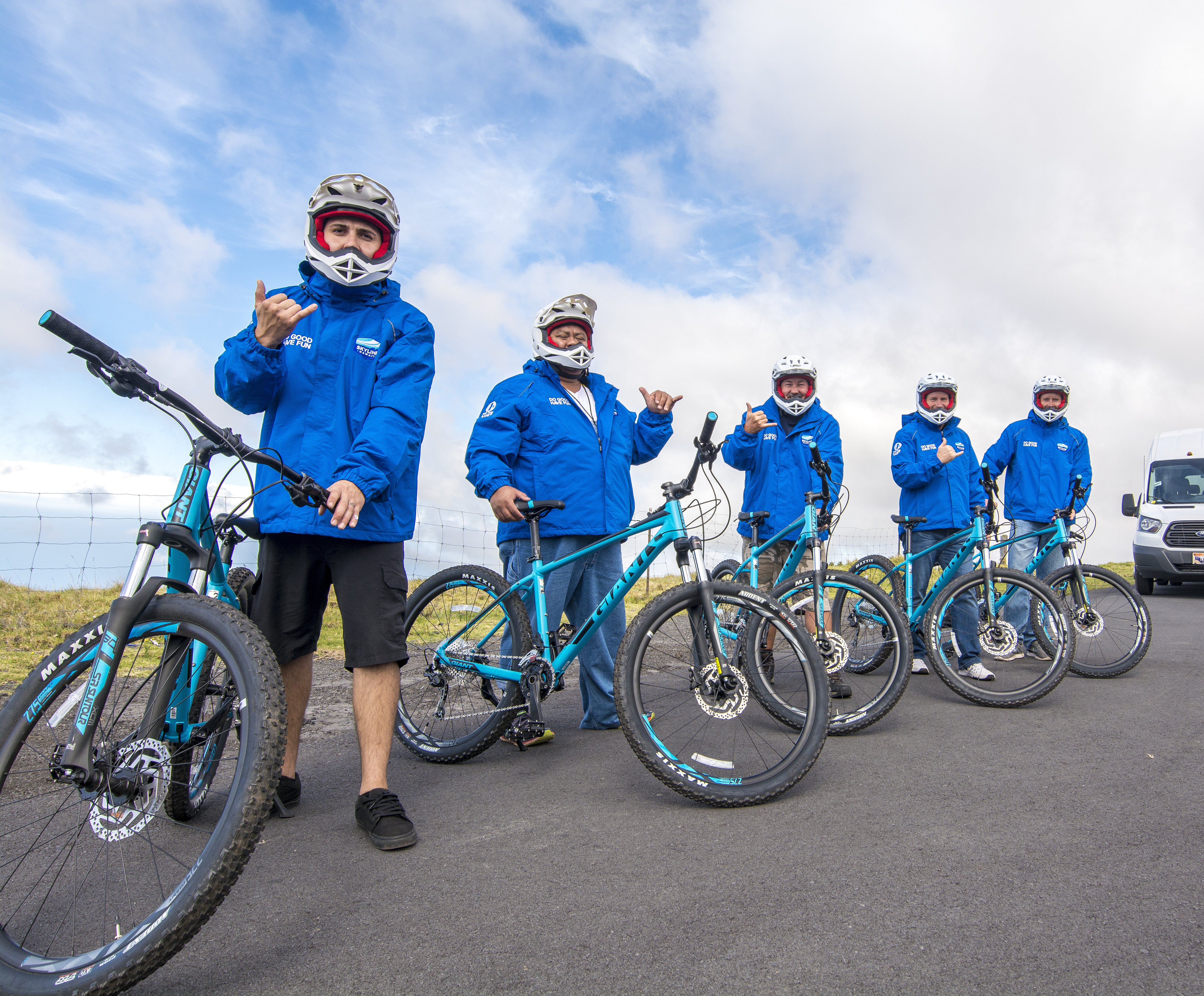 Haleakala National Park Bike n zip tour