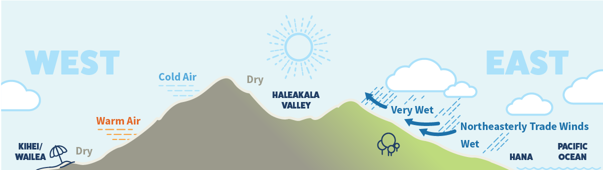weather on maui graphic