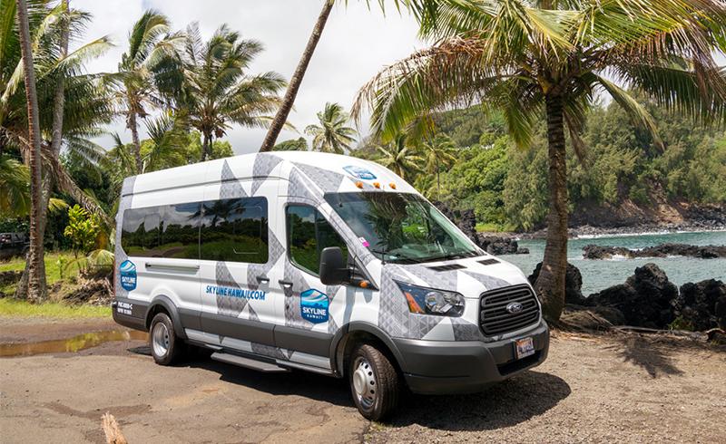 Skyline Hawaii Van