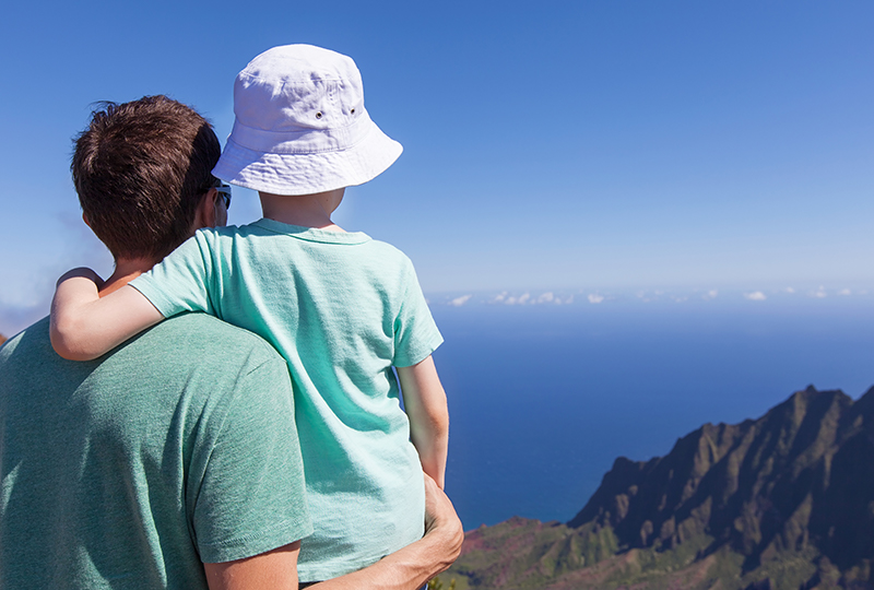 Go Hiking with your family on Maui