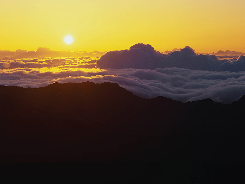 See the Haleakala Sunrise on Maui