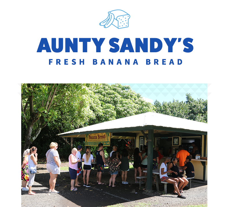 Buy banana bread on the Road to Hana
