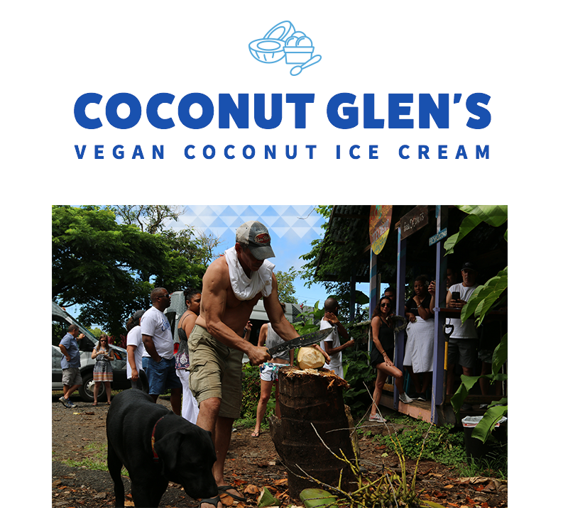 Try coconut ice cream on the Road to Hana