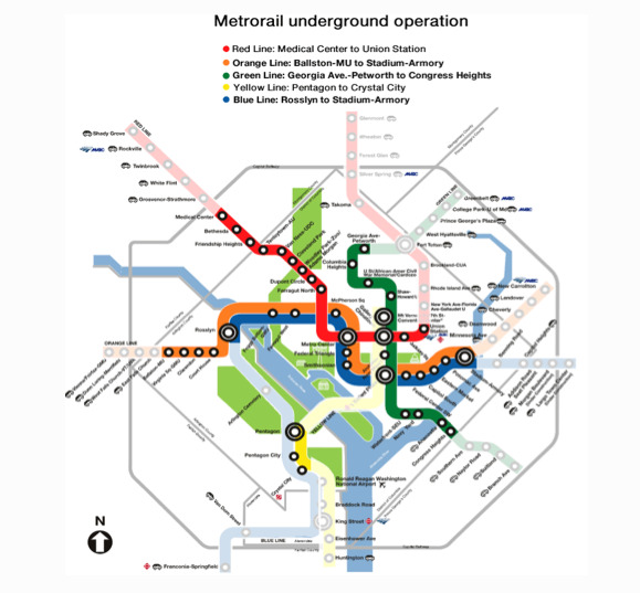 Dc Metro Map Green Line.Transit Today Expect Wide Delays And Reduced Service Dcist