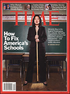 Michelle Rhee Learns Value of Communicating | DCist